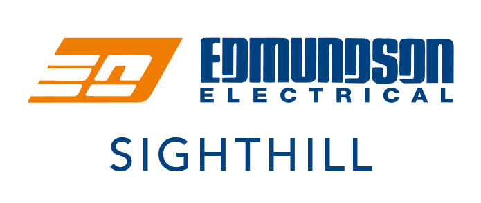Edmundson Electrical logo SIGHTHILL